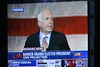 John McCain conceding defeat to Barack Obama in the 2008 U.S. Presidential Election  - jumbo-tron, Grant Park, Chicago.