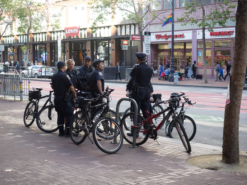 The Other Police Bikes