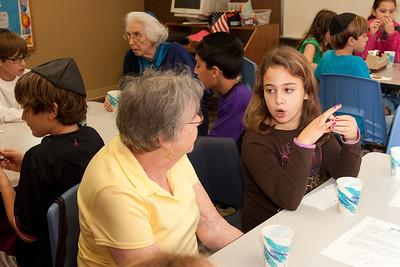 Congregation Beth El Mitzvah Day, October 2012 (Bethesda, MD)