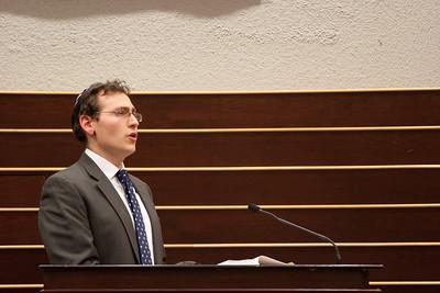 Hazzan Matthew Klein -- Thanksgiving Interfaith Service 2012 (Beth El & Bethesda United Methodist Church)