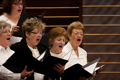 Ahavat Shir Choir -- Thanksgiving Interfaith Service 2012 (Beth El & Bethesda United Methodist Church)
