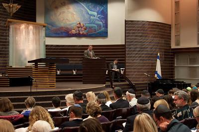Rabbi Greg Harris -- Thanksgiving Interfaith Service 2012 (Beth El & Bethesda United Methodist Church)