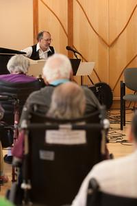 The Beth El Band performing at the Hebrew Home -- Beth El Mitzvah Day 2013 (October 27) performances