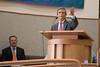 "Rabbi Bill Rudolph -- Rededication Ceremony of Congregation Beth El ""Bender Sanctuary"", Sept 14, 2014, following renovation."