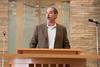 "David Mills, President -- Rededication Ceremony of Congregation Beth El ""Bender Sanctuary"", Sept 14, 2014, following renovation."
