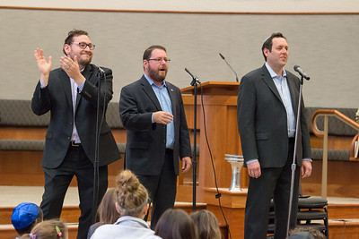 Wizards of Ashkenaz youth  concert for Congregation Beth El Religious School, Dec 18, 2016