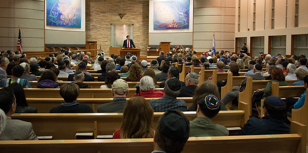 Ron Dermer, Israeli Ambassador to the United States spoke at Congregation Beth El (Bethesda, MD) on October 17, 2017.