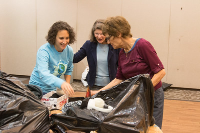Mitzvah Day at Congregation Beth El, October 29, 2017.