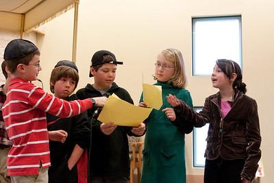 "4th grade (2009) Religious School ""model wedding"""