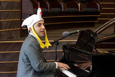Cantor Yakov Hadash performs Eatin' Kosher Chicken -- Wizards of Ashkenaz concert, April 29, 2012 at Congregation Beth El, Bethesda, MD