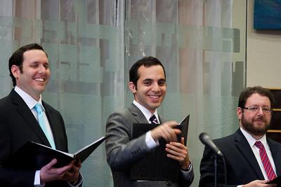 Cantors Sidney Ezer, Yakov Hadash, and Jonathan Schultz -- Wizards of Ashkenaz concert, April 29, 2012 at Congregation Beth El, Bethesda, MD