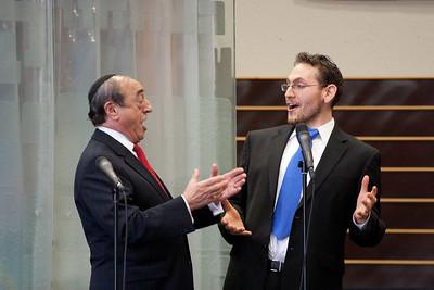 Hazzan Matthew Klein and Hazzan Emeritus Abraham Lubin sing Areshet S'fateinu -- Wizards of Ashkenaz concert, April 29, 2012 at Congregation Beth El, Bethesda, MD