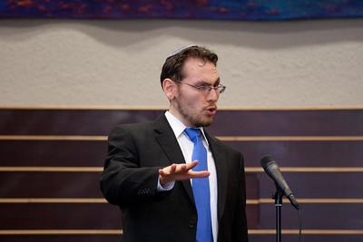 Hazzan Matthew Klein performs Shir HaBok'rim -- Wizards of Ashkenaz concert, April 29, 2012 at Congregation Beth El, Bethesda, MD