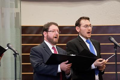 Cantor Jonathan Schultz and Hazzan Matthew Klein -- Wizards of Ashkenaz concert, April 29, 2012 at Congregation Beth El, Bethesda, MD