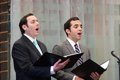 Hazzan Sidney Ezer and Cantor Yakov Hadash -- Wizards of Ashkenaz concert, April 29, 2012 at Congregation Beth El, Bethesda, MD