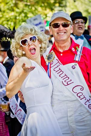 Constitution Day Parade, Nevada City,