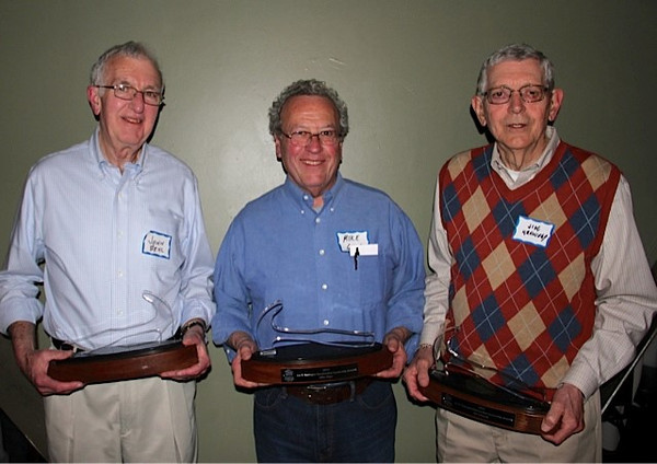 2014 Joe F. Castagno Award Winners - John Behl, Mike Giger, Jim Kennedy