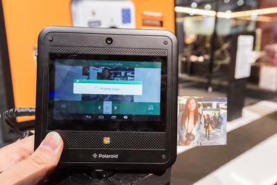 Polaroid. Consumer Electronics Show (CES) 2015 - Las Vegas, NV, USA