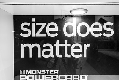 Size Matters - Monster Powercard. Consumer Electronics Show (CES) 2015 - Las Vegas, NV, USA