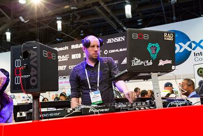 Deejay. Consumer Electronics Show (CES) 2015 - Las Vegas, NV, USA