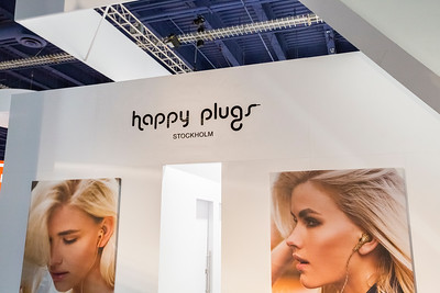 Happy Plugs. Consumer Electronics Show (CES) 2015 - Las Vegas, NV, USA