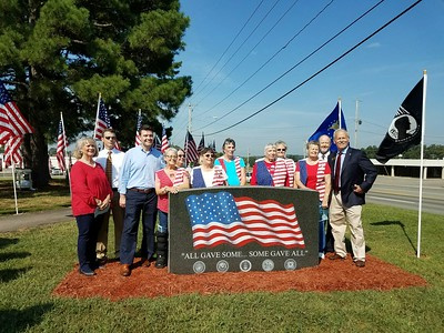 Conway County Piecemakers Monument Dedication (Sept. 16)