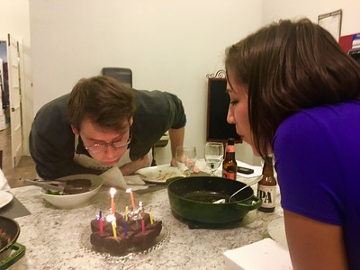 Happy birthday, Melanie and Jason!