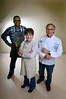 Pat Sweet, Michael Gilden and Wayne Faircloth have entered a cooking contest.  They take picture of their dishes.