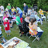 Rehabilitative Resources Inc. held a cook out for its residents t the group home on Rollstone Street in Fitchburg on Saturday.  SENTINEL & ENTERPRISE/JOHN LOVE