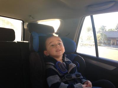Corban's first dentist visit! Dec. 20, 2012