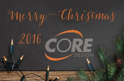 Core Design Holiday Party