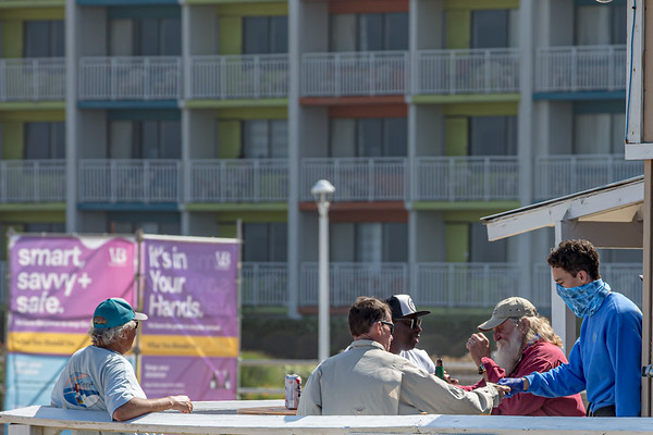 NEWS: MAY 22: Virginia Beach opens for swimmers, sunbathers and surfers  Memorial Day weekend.