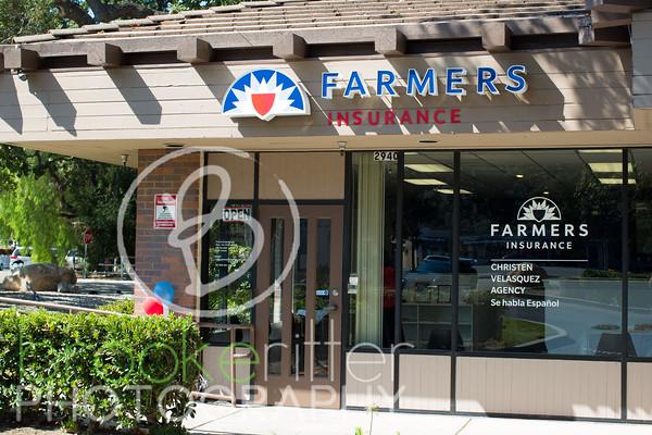 Christen Velasez Farmers Grand Opening