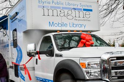 Elyria Public Library Bookmobile Dedication