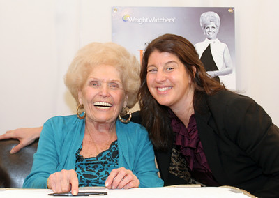 "020510  - BOCA RATON - FLORIDA - Jean Nidetch, founder of Weight Watchers, meets, greets, and mingles with guests at a book signing for her recently published book ""The Jean Nidetch Story"".   photo  by tim stepien"