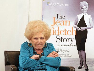 """020510  - BOCA RATON - FLORIDA - Jean Nidetch, founder of Weight Watchers, meets, greets, and mingles with guests at a book signing for her recently published book """"The Jean Nidetch Story"""".   photo  by tim stepien"""