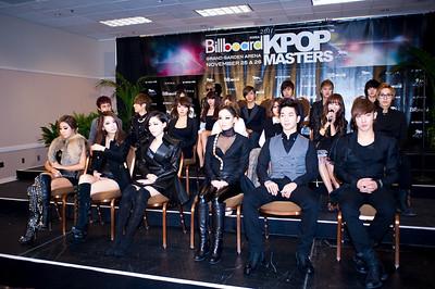 K-Pop  Press Confference