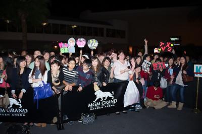 K-pop Red Carpet Fans