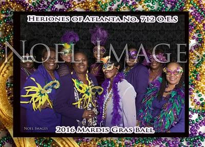 2016 Heroines of Atlanta Chapter No. 712 Mardi Gras Party