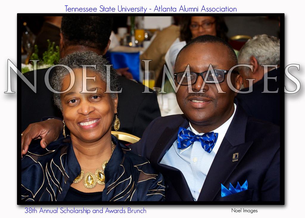 Mr & Mrs Nathan Lovett, TSU Alum