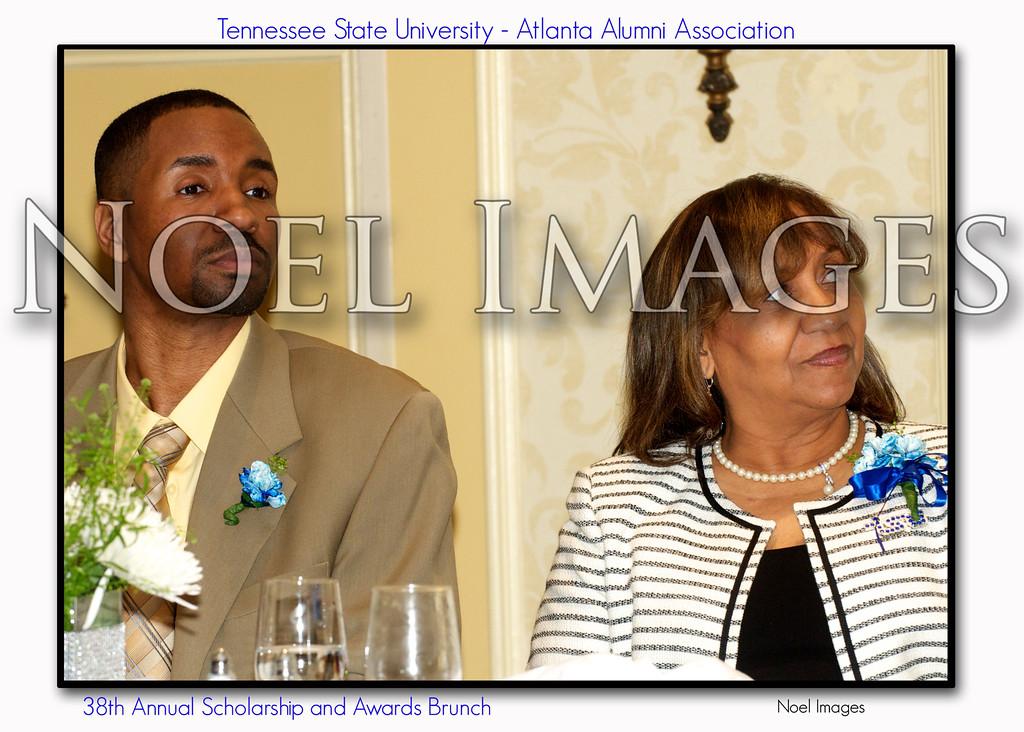 Willie Floyd and Eunice McKnight, TSU Alumni