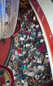 Cosmopolitan Casino opening night in Las Vegas December 15 2010 with 20,000 people attending photos in online gallery by Mark Bowers of ReallyVegasPhoto.
