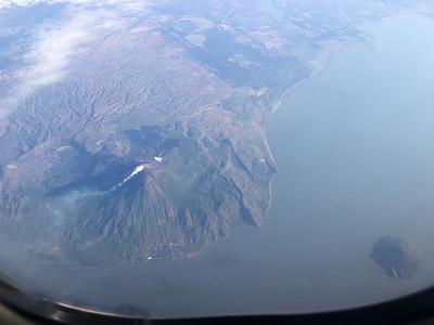 Above Nicaragua