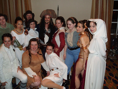 "Eleven Princess Leia's, and Jack Sparrow. Otherwise known as ""Leia's Eleven"""