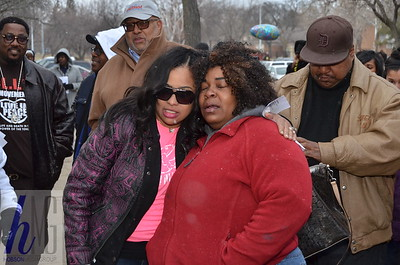 Councilwoman Mary Sheffield Prayer Vigil for 2 Detroit kids and family
