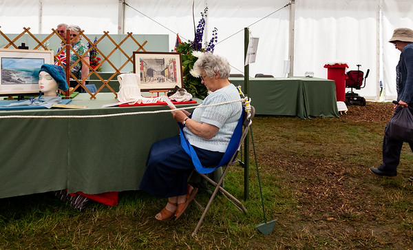 WI Tent, Cheshire Show 2012