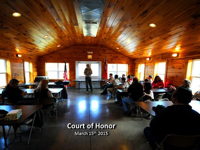 Court of Honor - March 2015