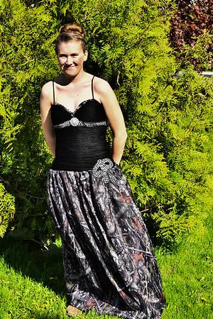 Courtni Salmi Prom 2017