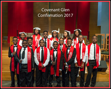 Covenant Glen Confirmation 2017