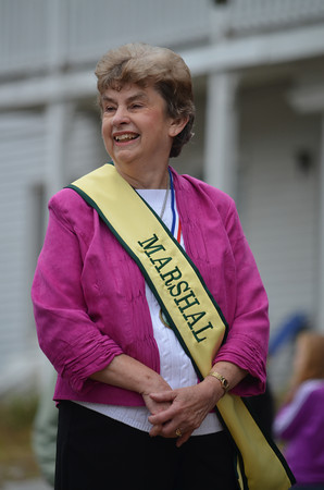 Town Council member and parade committee member Joan Lewis.